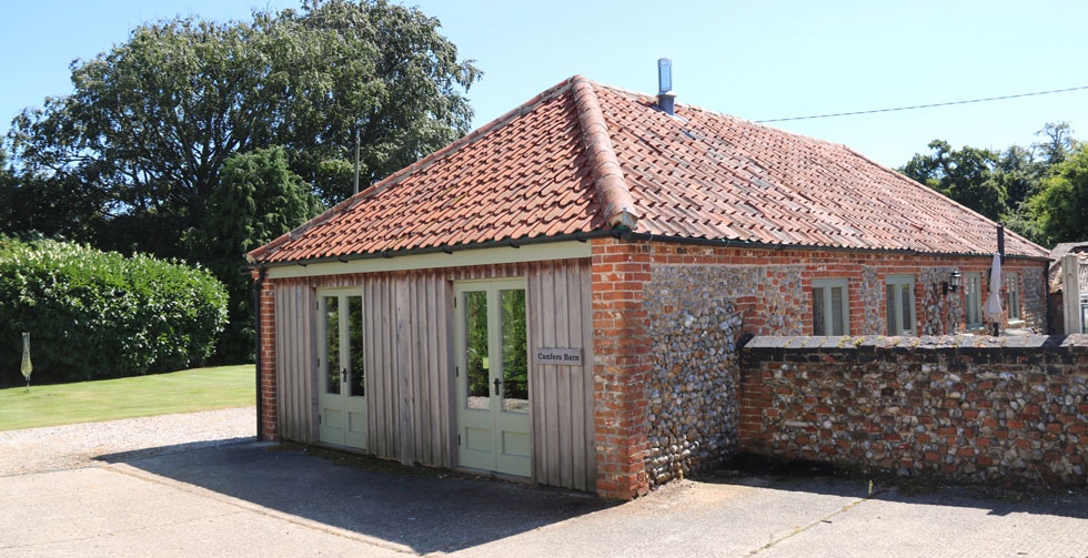Canfers Barn Briningham Self Catering Norfolk