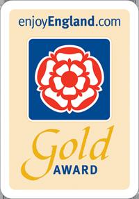 Enjoy England Gold Award