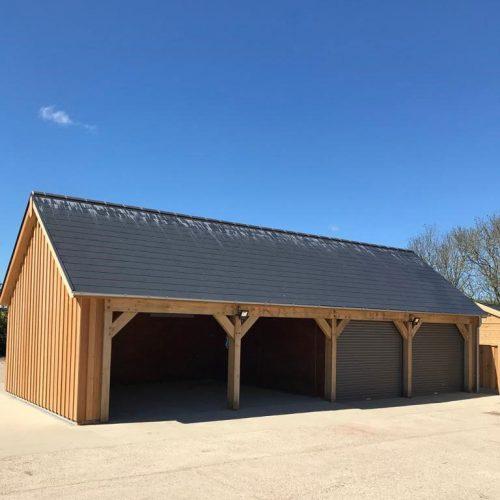 Open Bay Garage
