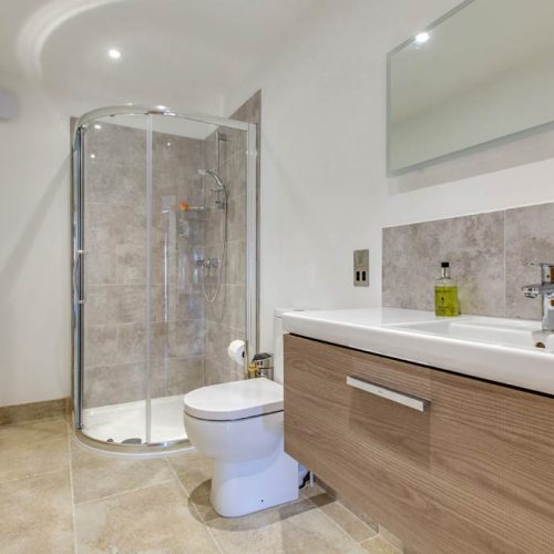 Cloakroom And Additional Shower