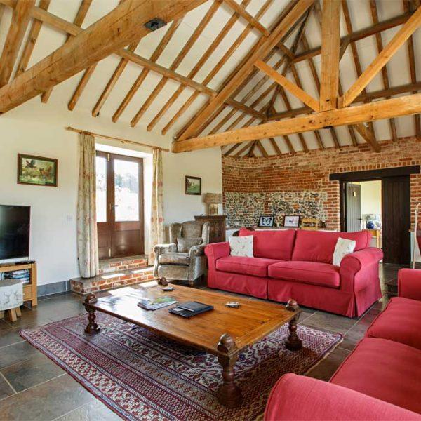 Bayses Barn Living Area